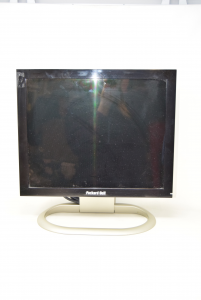 Pc Screen Packard Bell Black With Cables