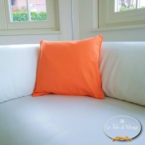 Fodera cuscino tinta unita Arancio