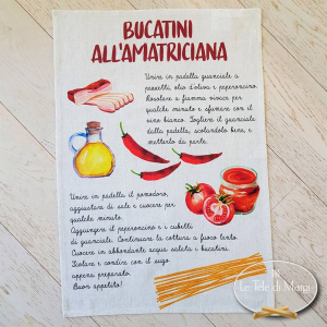Canovaccio bucatini all' amatriciana