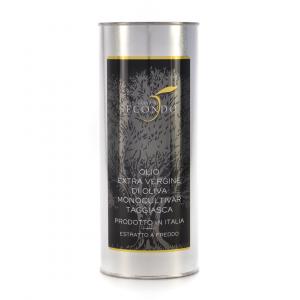 Latta da 1 litro olio extra vergine di oliva monocultivar taggiasca