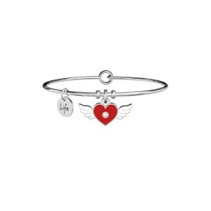 Bracciale Donna Kidult Love con simbole Cuore