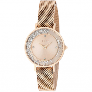 LIU​​​​​​​ JO Orologio Mini Dancing Slim, Rose Gold