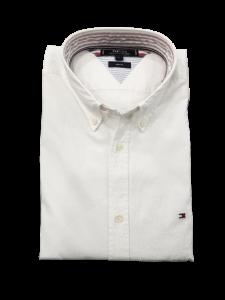 Camicia uomo bianca goffrata btd vestibilità slim fit