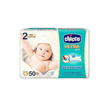 Chicco Ultra soft 2 MINI 3-6Kg - 50 pannolini