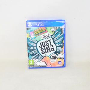 VIDEOGIOCO PS4 JUST SING