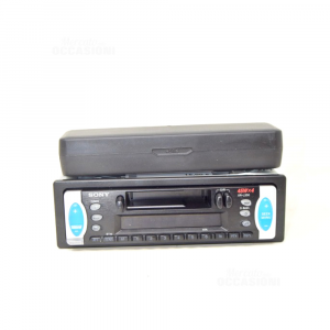 Car Radio Sony Radio And Audio Cassettes Model 45wx4 (no Cables)