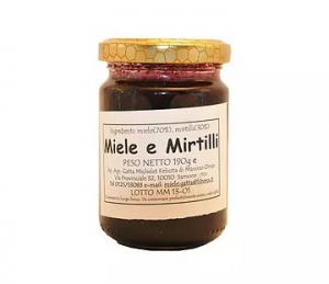 Miele e Mirtilli 190 gr