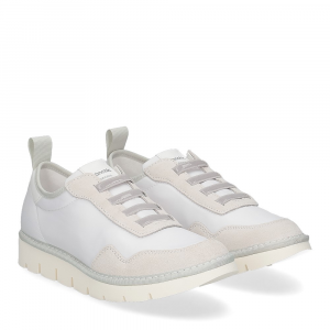 Panchic P05W nylon suede white