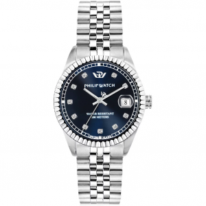 Philip Watch Caribe, Quadrante blu con Diamanti