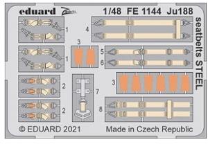 Ju188 Seatbelts Steel