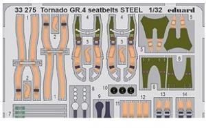Tornado GR.4 Seatbelts Steel