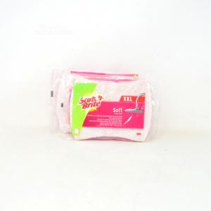Scotch-brite Sponge Bathroomxx L Soft For 2 Pieces