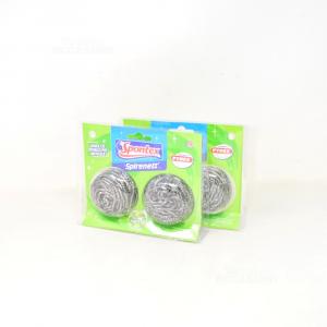 Sponge Spontexspirenettx2 Package Form 10 Pieces