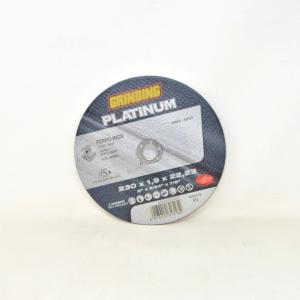 Grinding Platinum Disc Slim For Iron Steel Inox-125x1xx 22.23 New