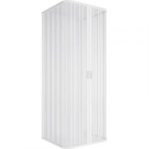 BOX DOCCIA 3L SOFFIETTO RIDUCIBILE APERTURA CENTRALE LUX               cm 70x100x70