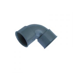 CURVA 87°30' FF PVC GRIGIO Diam. 40