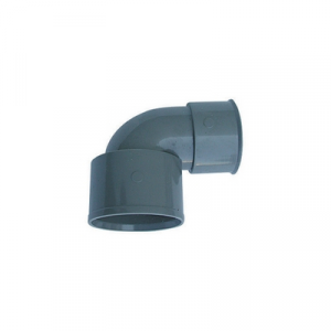 CURVA TECNICA PVC GRIGIO Diam. 50-40