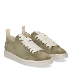 Panchic P01W suede olive pearlgrey
