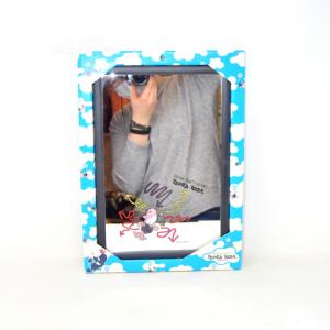 Specchio Decorativo Pecora Nera 22 X 32 Cm Bordo Nero