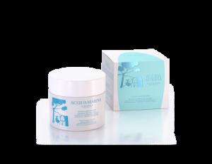 Crema Nutrintensiva Emulsione Nutriente Corpo con Polvere di Acquamarina, Estratto di Malachite e Olio di Mandorle Dolci