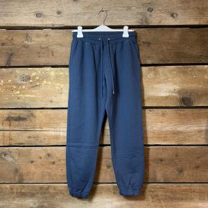 Pantalone Colorful Standard 100% Organic Cotton Blu Petrolio
