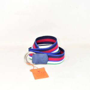 Belt Rooster Colored Model Oltremare From Boy