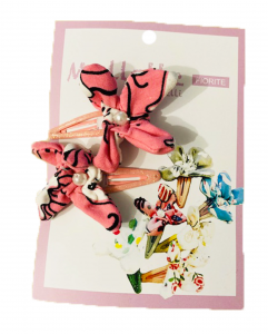 Meduse rosa - Set di mollette