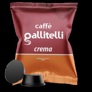 Caffè Gallitelli 100 capsule compatibili Lavazza A Modo Mio miscela Soave-2
