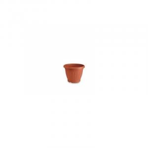 Veca Firenze Vaso Colore Terracotta 60 cm Circolare Ideale per Piante e Fiori Da Giardino