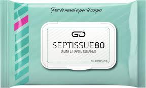 GOLMAR - GD SEPTISSUE80 SALVIETTINE DISINFETTANTI USO CUTANEO