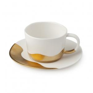 HERVIT - BOX 2 SET TAZZINE CAFFE' PORCELLANA