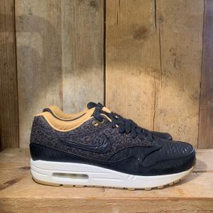 Scarpa Nike Air Max 1 FB Woven Nera e Oro