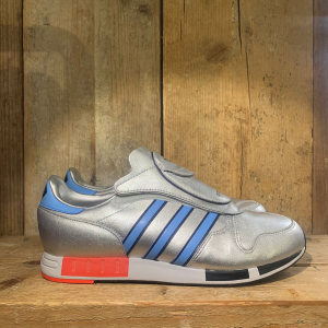 Scarpa Adidas Micropacer OG Argento e Azzurro