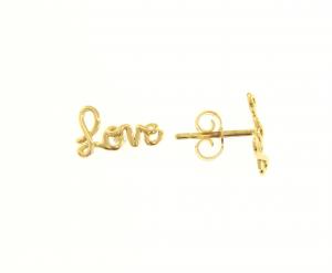 ORECCHINI LOBO ORO LOVE