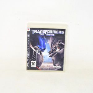Videogioco Playstation 3 Transformers The Game