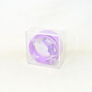 Rubber Belt Lilac Tie-ups