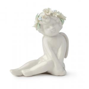 Royal Class - Angelo Eden seduto in porcellana