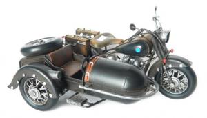 Moto in metallo modellino cm 35