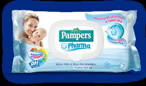 Pampers Pharma - 63 Salviettine Pelli Sensibili