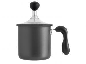 Pentolino schiuma cappuccino antiaderente facile pulizia