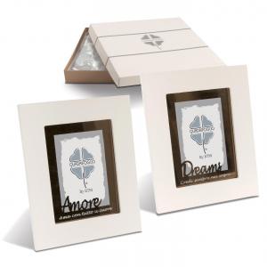 Quadrifoglio - collezione Aurea, p/foto con scritta