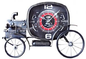 Orologio bicicletta metallo cm 48