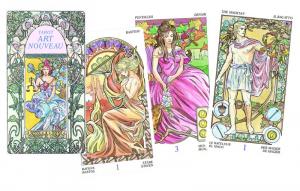 78 carte Tarocchi Art Nouveau