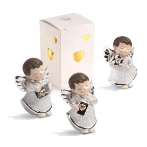Quadrifoglio - collezione Stella, scultura angelo