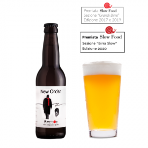Birra New Order  - 33cl/75cl - Premiata Slow Food
