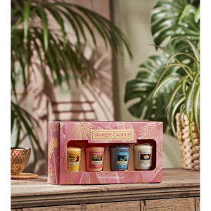 Yankee Candle - The Last Paradise - Confezione Regalo 4 candele sampler