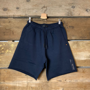 Pantaloncino Scotch & Soda in Cotone Organico Blu Navy