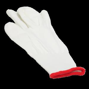 Guanti in cotone bianco per Onicotecnica - Misura S