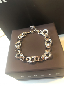 Bracciale in argento linea Fraboso