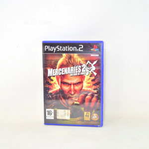 Video Game Play Station 2 Mercenaries 2 Inferno Of Fire